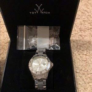 Clear toy watch